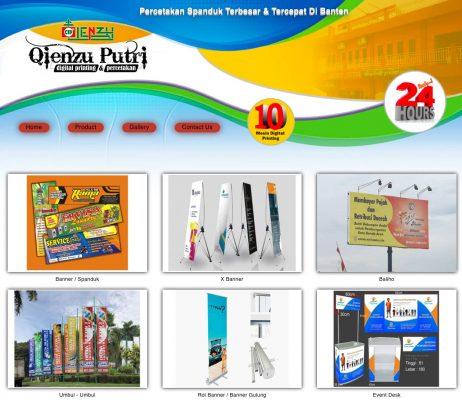 Qienzu Putri Digital Printing